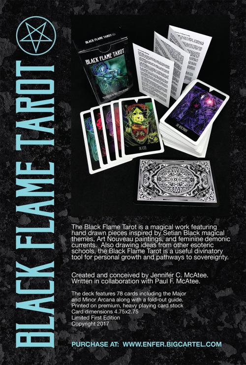 Black Flame Tarot Deck